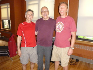 Mike Shallow, Dr. David Berceli, Steve Munn